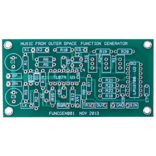 Battery Powered Function Generator  PCB